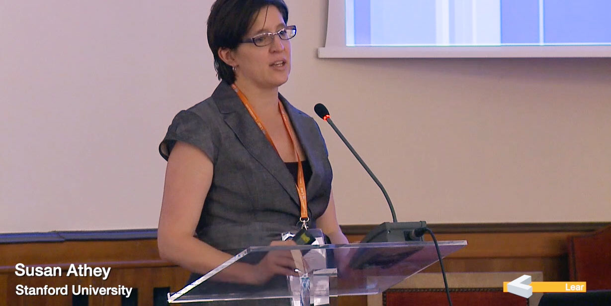 Susan Athey (Stanford University)