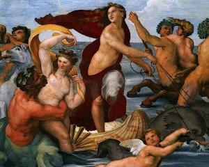 Affresco della ninfa Galatea - Raffaello Sanzio