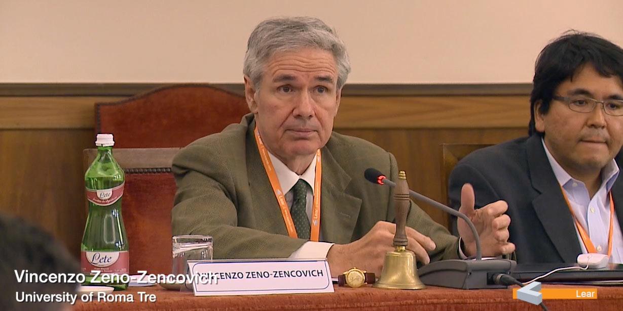 Vincenzo Zeno Zencovich (University of Roma Tre)