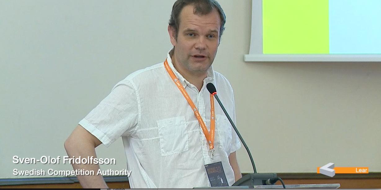 Sven Olof Fridolfsson (Swedish Competition Authority)