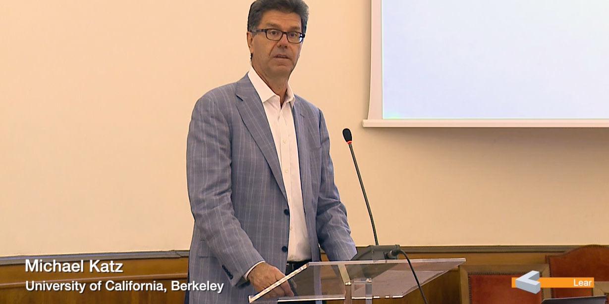 Michael Katz (University of California, Berkeley)