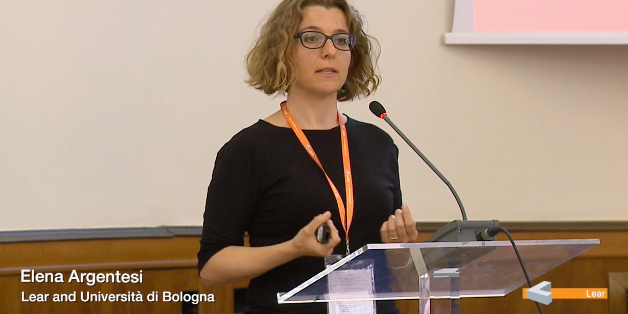 Elena Argentesi (Lear and Università di Bologna)