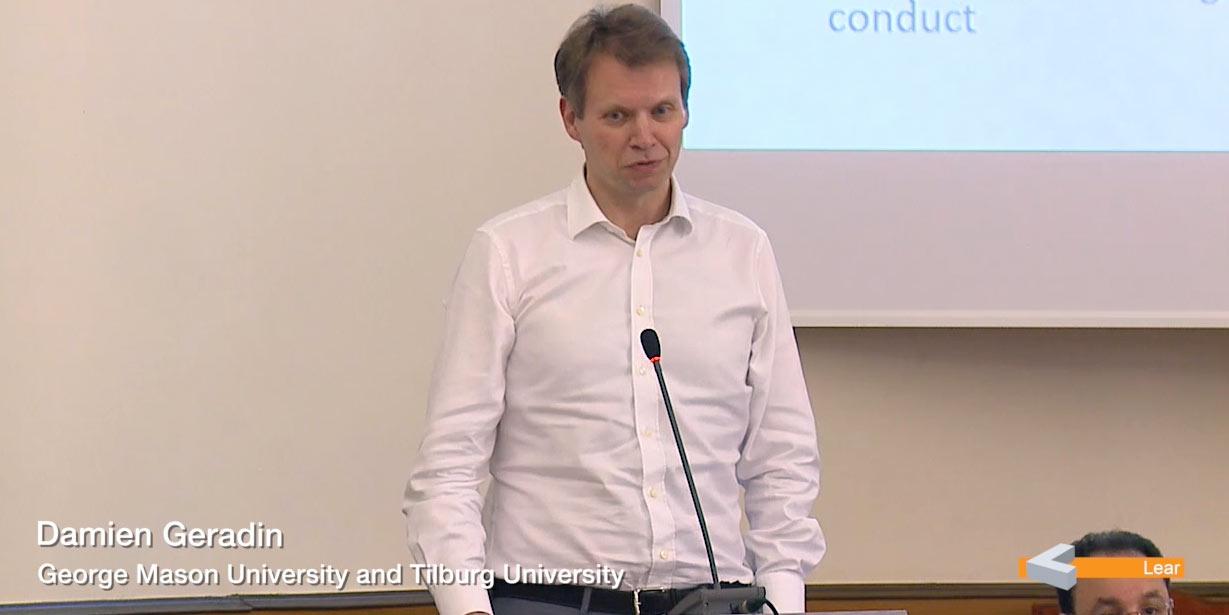 Damien Geradin (George Mason University and Tilburg University)