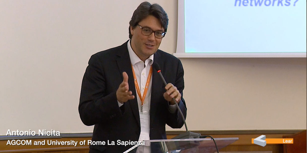Antonio Nicita (AGCOM and University of Rome La Sapienza)